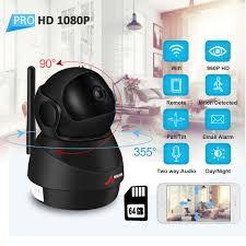 Wireless WiFi <b>HD 1080P</b> 64G <b>IP</b> Camera Smart <b>PT</b> Home CCTV ...