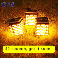 Online Shop <b>Waterproof LED Solar</b> Garden Light <b>Flame Torch</b> ...