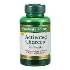 Nature's Bounty® <b>Activated Charcoal</b>, <b>260</b> mg, 100 Capsules NOT ...