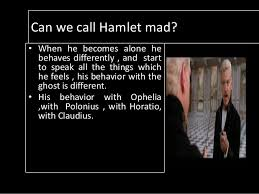 hamlet    s madness and ophelia    s madness