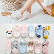 <b>5pairs</b>=<b>10pieces</b> kawaii <b>Cartoon women socks</b> cotton invisible <b>socks</b> ...