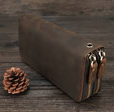 best <b>crazy horse</b> leather men wallet long ideas and get free shipping ...