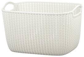 <b>Купить CURVER Корзина Knit</b> 30x40x23см белый по низкой цене ...