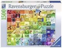 <b>1500 pcs</b> jigsaw puzzle: Beautiful Colors (Art) (Ravensburger 163229)