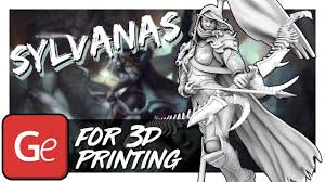 <b>Sylvanas Windrunner</b> 3D Model | Assembly by Gambody - YouTube