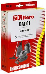 <b>Набор пылесборники</b> + фильтры <b>Filtero DAE</b> 01 (5) Standard ...