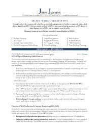 10 marketing resume samples hiring managers will notice digital marketing executive resume example