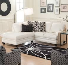 f inspiring cheap living room furniture ideas for small spaces with elegant white upholstery faux leather sectional sofa in custom chaise using black cheap furniture for small spaces