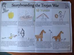 storyboard of the trojan war nina s blog storyboard of the trojan war