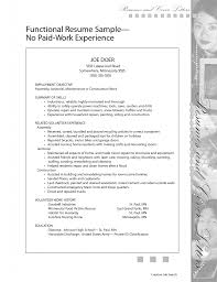 well paid resume no experience s no experience lewesmr sample resume functional paid joe doer employment objective