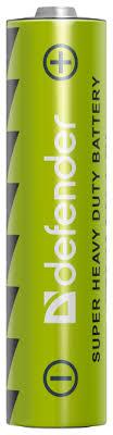 Купить <b>Батарейка Defender</b> солевая <b>AAA</b> R03 4 шт блистер по ...