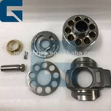 HPV95 <b>Hydraulic</b> Pump Parts, ball guide valve plate cylinder block ...