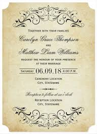 elegant wedding invitation templates sample example elegant flourish wedding invitation template