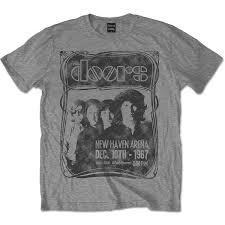 The Doors <b>Jim Morrison</b> Live In Concert 1967 Offiziell T Shirt Herren ...
