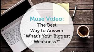 the best way to answer what s your biggest weakness on vimeo