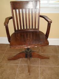 home office refinishing an antique desk chair one home made antique office chair
