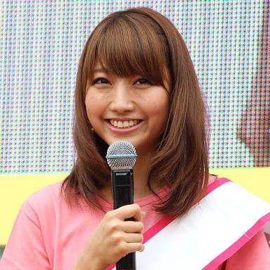 笑顔の三田友梨佳