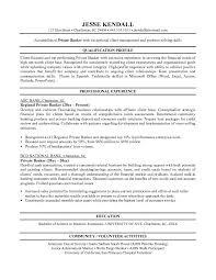 bank resumes banking  tomorrowworld cojk private banker example private banker resume free sample   bank resumes