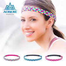 2019 <b>AONIJIE</b> Yoga <b>Headband Fitness</b> Sports Female Sweatband ...