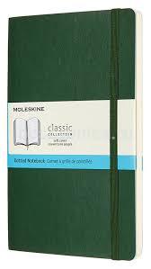 Купить <b>Блокнот Moleskine Classic</b> Soft Large зеленый (QP619K15 ...