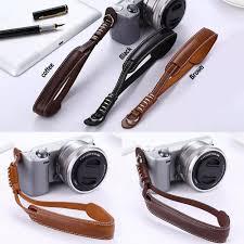 PU <b>Leather Camera Wrist Hand</b> Strap Grip For Finepix Fuji Fujifilm ...