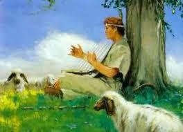 Resultado de imagem para imagens do salmista  davi