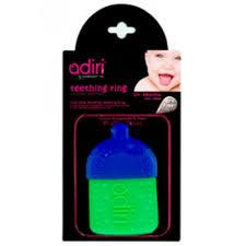 Прорезыватель для зубов Adiri Bottle Teething Ring - Mom & Me