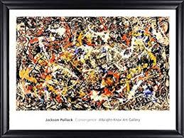 Barewalls Convergence Abstract Expressionism by <b>Jackson Pollock</b> ...