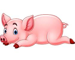 Vector illustration of Cartoon <b>funny pig</b> Graphic Vector - Stock by Pixlr