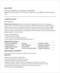 Babysitting Job Application   Resume Sample Database raubachz nvr    com