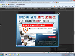 Malvertising hits 'The Times of Israel' and 'The Jerusalem Post ...