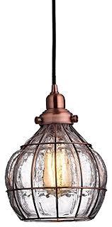 antique copper cracked glass vintage industrial ceiling lamp light industrial pendant lighting antique pendant lighting