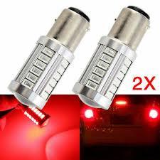 <b>10x 1157 BAY15D</b> 33smd 5360 Car LED Turn Signal Tail Stop ...