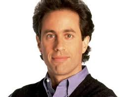 Jerry Seinfeld is a comedian who is a germaphobe, neat-freak and probably the most reasonable main character. Only he's not that reasonable. - jerry-seinfeld-dad