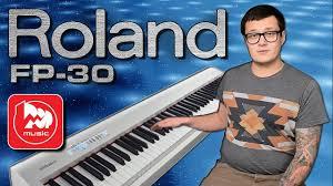 <b>Цифровое пианино ROLAND</b> FP-30 - YouTube