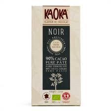 <b>Organic</b> Black <b>Chocolate Bar</b> from Ecuador 90% - Kaoka