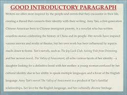 howto writean effective introductory paragraph what goes into an 13 writers
