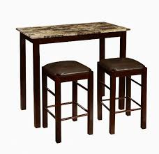 amazoncom roundhill furniture brando 3 piece counter height breakfast set espresso finish serving carts breakfast set furniture