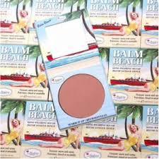 Бронзер-<b>румяна</b> theBalm Balm <b>Beach Blush</b> | Отзывы покупателей