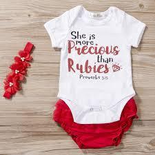 3PCS Newborn Baby <b>Girls</b> Princess <b>Letter</b> Short Sleeve Romper ...