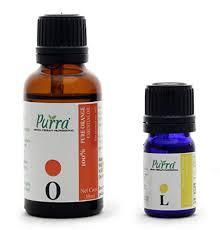 Purra Sweet Orange Essential Oil, 30ml with <b>Lemon Essential Oil</b>, <b>5ml</b>