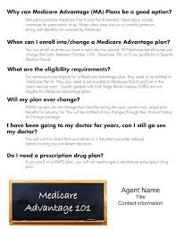 flyers ready agent medicare 101 sample