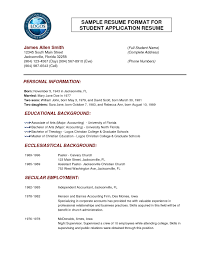 examples of resumes sports resume format template sample examples of resumes resume template the secret of format resume best resume in format