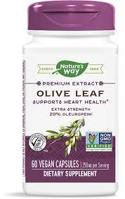 <b>Olive Leaf</b> 20% / <b>60</b> Vcaps - Nature's Way®.
