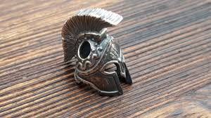 <b>Бусина ШЛЕМ СПАРТАНСКИЙ</b>, на темляк, серебро 925 – купить ...