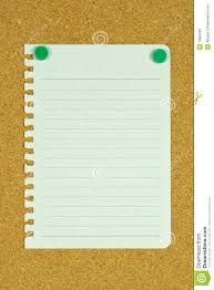 blank page memo on cork board stock photography image 19660062 blank page memo on cork board