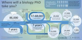 science types resources for finding a career away from the bench ascb org infographic