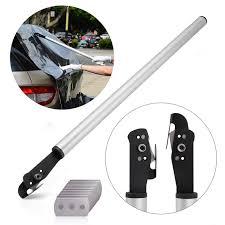 ehdis 23inch vinyl wrap carbon film car stickers teflon cutter utility art knife 10pcs blade safe wallpaper slitter cutting tool