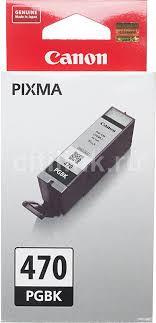 Купить <b>Картридж CANON PGI</b>-<b>470PGBK</b>, черный в интернет ...