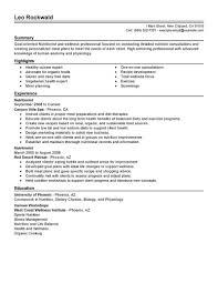 example resume for dietitian sample customer service resume example resume for dietitian clinical dietitian resume samples jobhero nutritionist resume examples salonspafitness resume samples